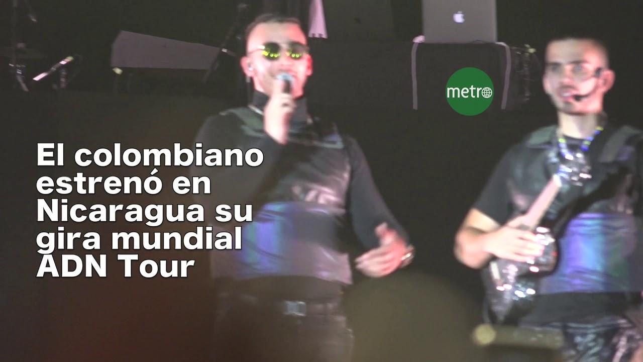 Así se vivió el concierto de Manuel Turizo en Managua