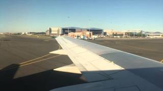 SAFAIR FA001 Landing At Johannesburg's O.R.Tambo International Airpot