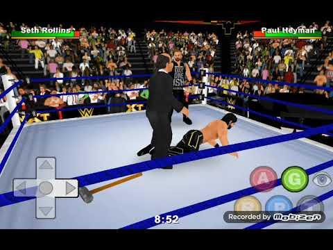 Wrestling revolution 3d bölüm 1  Allah belanı versin baron corbin!