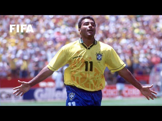 🇧🇷 Romario | FIFA World Cup Goals