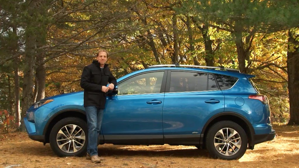 toyota rav4 hybrid 2017 review youtube. Black Bedroom Furniture Sets. Home Design Ideas