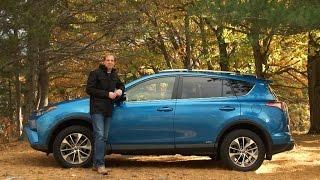 Toyota RAV4 Hybrid 2017 Review