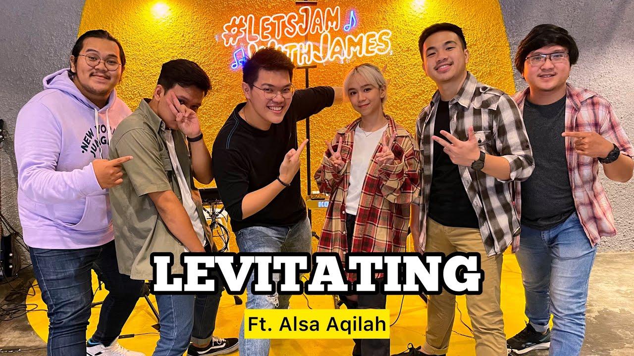 Levitating (KERONCONG) - Alsa Aqilah ft. Fivein #LetsJamWithJames
