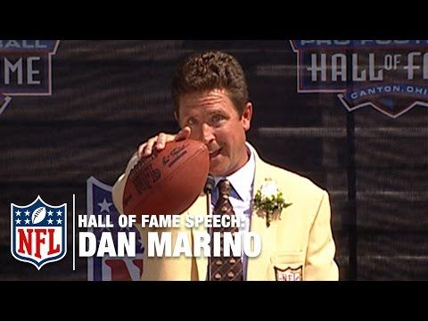 "Dan Marino ""Earning"" Hall of Fame Speech | NFL Network"