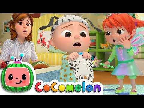 Halloween Costume Song | CoComelon Nursery Rhymes & Kids Songs - Видео онлайн