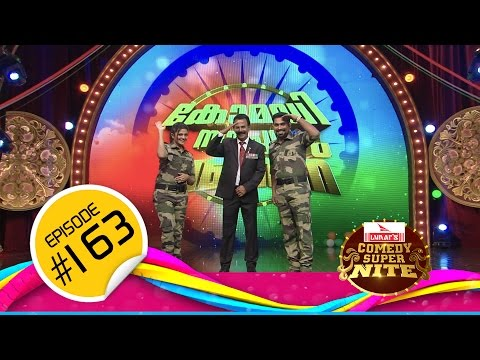 Comedy Super Nite Republic day Special With Major Ravi | മേജർ രവി │CSN  #163