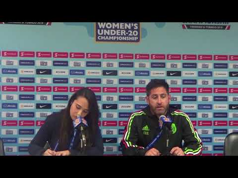 Mexico head coach speaks at Post-Match Press Conference win over Canada