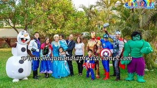 Show Infantil de Frozen & Avengers Show Chiquilandia Producciones