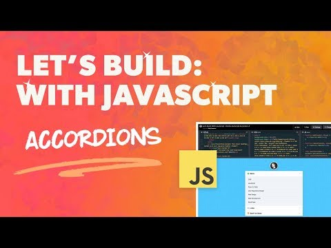 How to Create an Accordion with Vanilla JavaScript – Web-Crunch