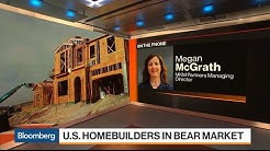 U.S. Homebuilders Face Bear Market Amid Rising Interest Rates