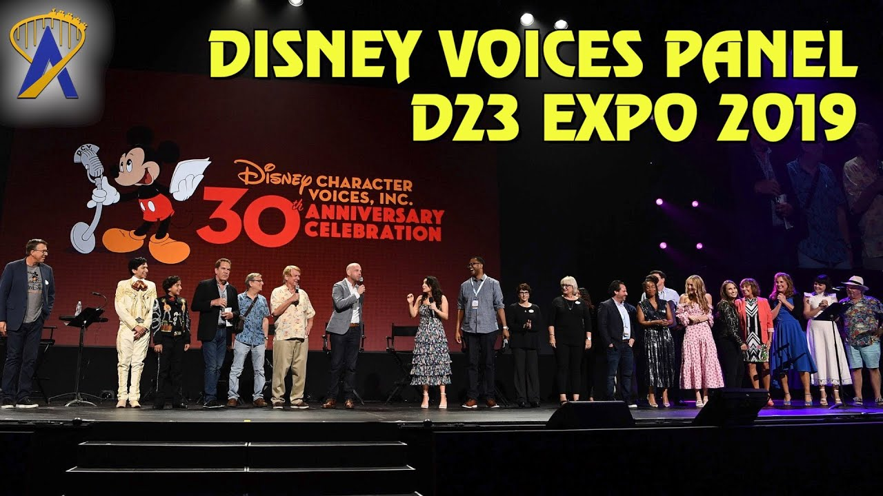 Download Disney Character Voices, Inc: The 30th Anniversary Celebration - Full Panel at D23 Expo 2019