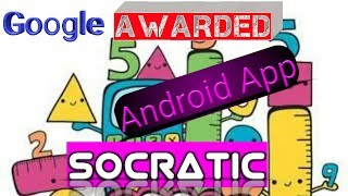 How to use Socratic App to Solve your Math Homework!! New Free app 2017 awarded by Google