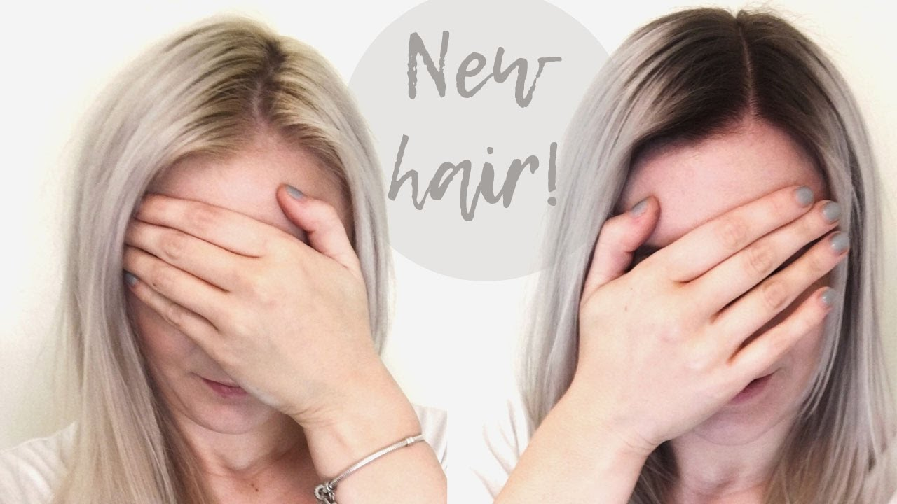 Platinum Blonde Ombré Hair Blonde Amy Youtube