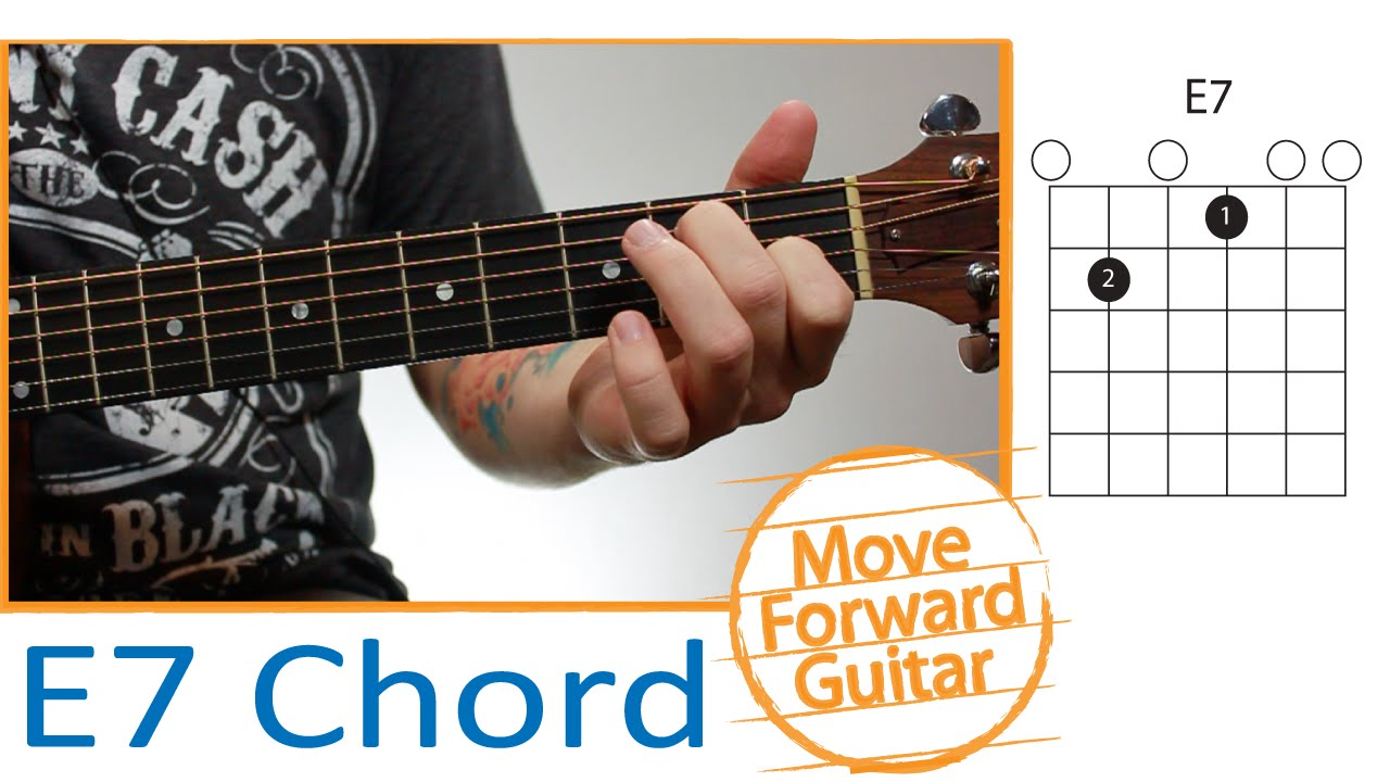 Guitar Chords For Beginners E7 Youtube