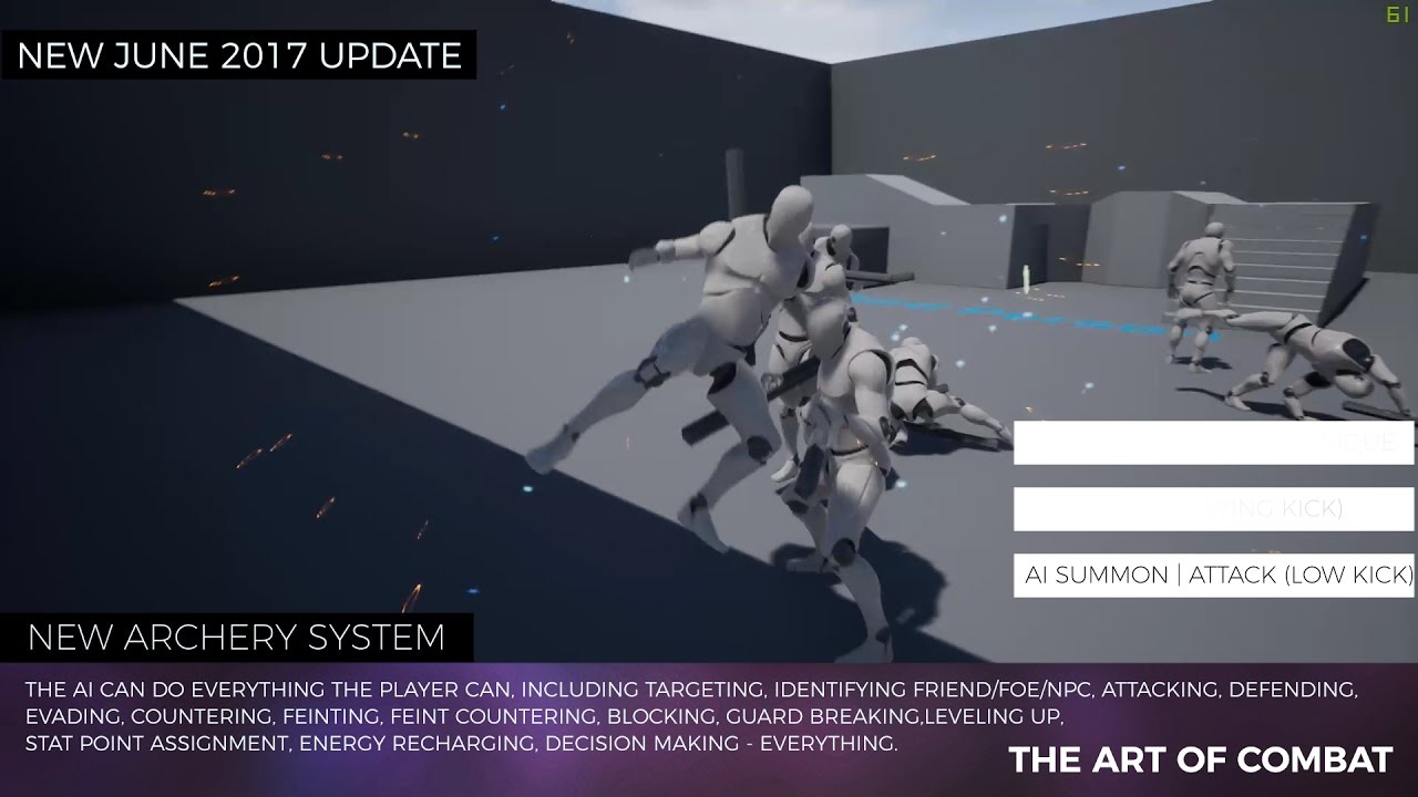 The Art of Combat - Melee Combat System for the Unreal Engine