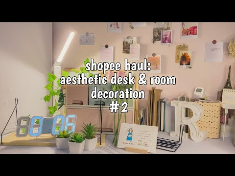 Shopee Haul: Desk