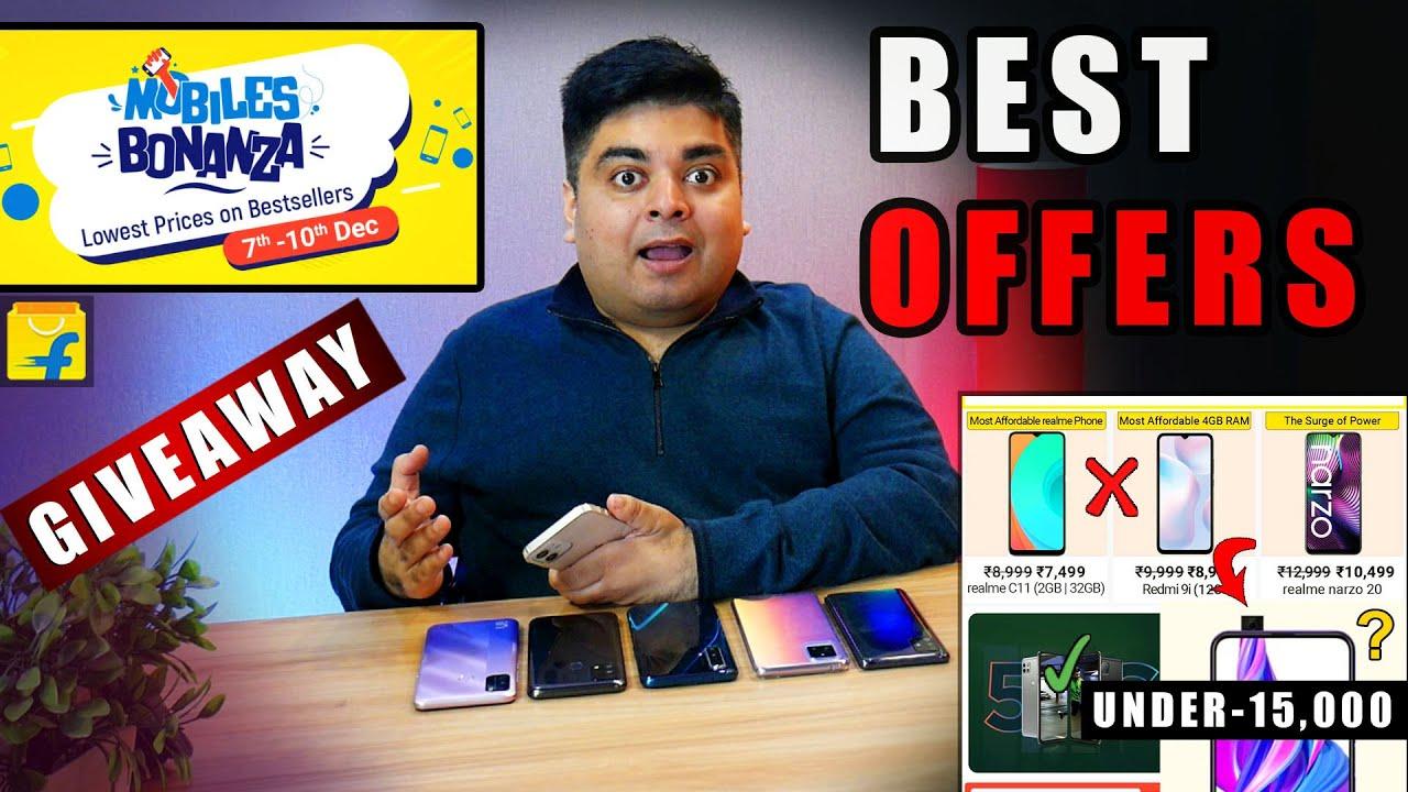 Flipkart Mobile Bonanza Sale December 2020 | BEST SMARTPHONES TO BUY | गलती मत करना | GIVEAWAY