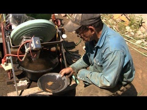 Gold Rush - Working Gold Mine - Western Montana, MT