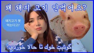 이란인들이 왜 돼지 고기 못 먹어요?