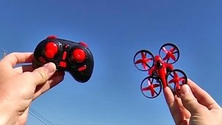 Eachine E010 Micro RC Drone Flight Test Review - Captain RC