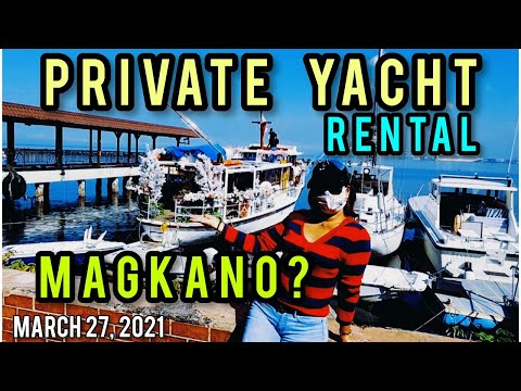MANILA BAY PRIVATE YACHT RENTAL/HOUR MAGKANO? UPDATE & SIGHTSEEING TOUR!