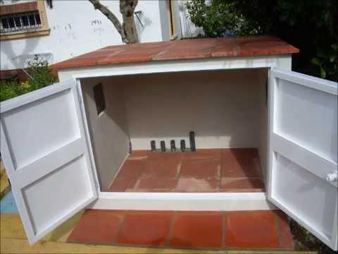 Construcci n de caseta y enlechado piscina youtube for Como construir una piscina de ladrillos