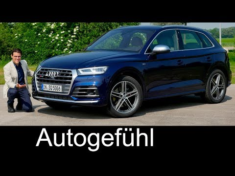 Audi SQ5 FULL REVIEW V6 petrol all-new Q5 test neu 2018 - Autogefuehl
