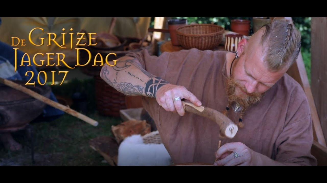 Grijze Jager Dag 2017 3 En 4 Juni Archeon Youtube
