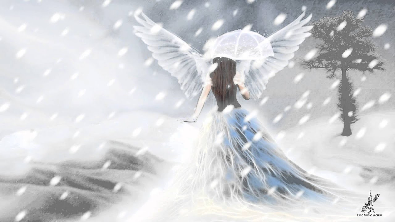 snow angel wallpaper cartoon - photo #36