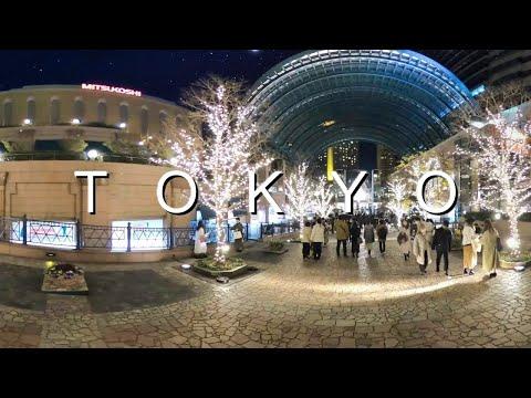 [4K] Yebisu Garden Place Winter Illumination Baccarat Chandelier 360 Degrees | Made in Tokyo by Paul