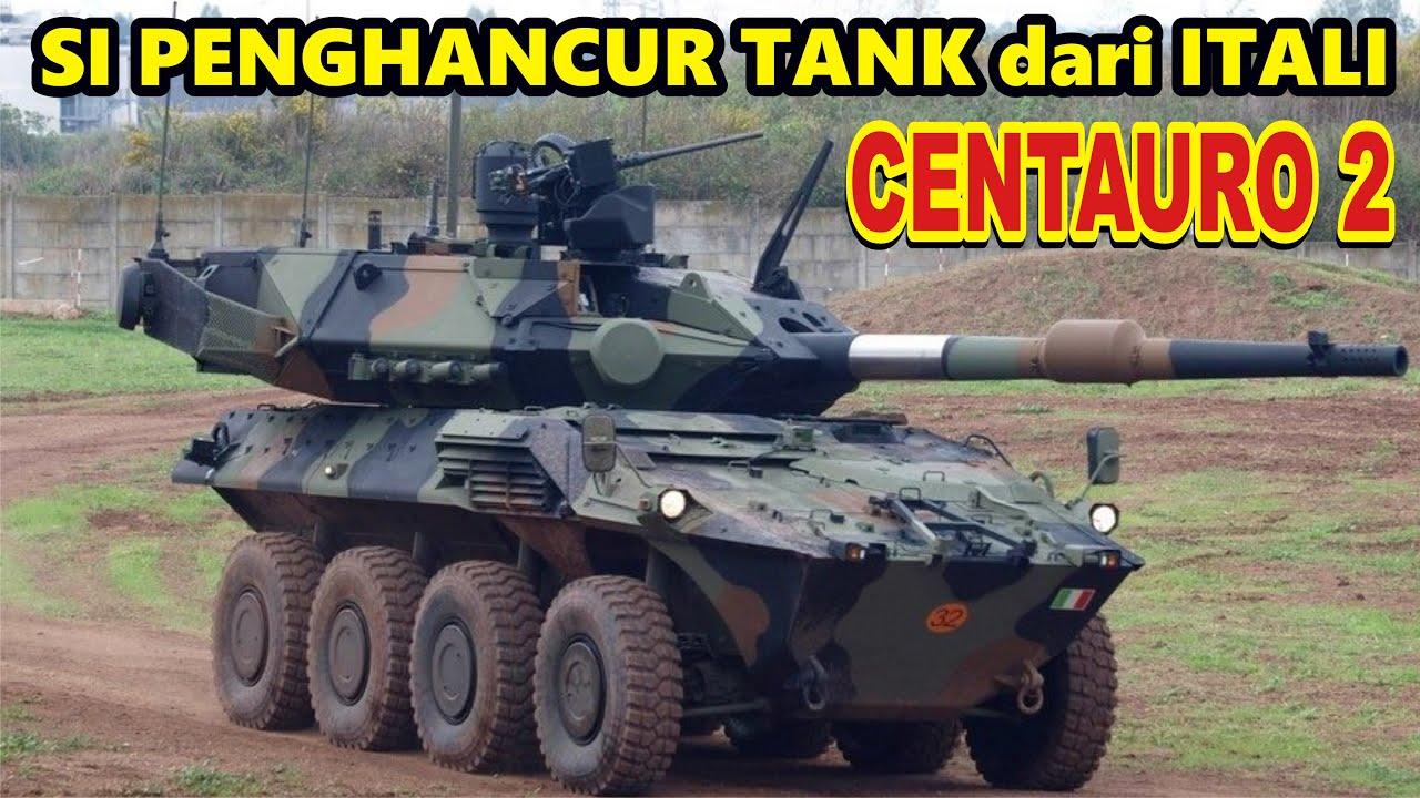 Cocok Untuk Indonesia nih....Centauro II Kendaraan Penghancur Tank dari Itali