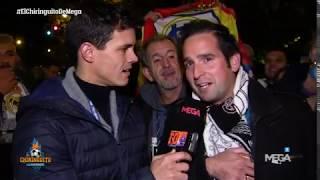 ¿SE CREEN los MADRIDISTAS que Josep Pedrerol es del Barça? ¡LA ENCUESTA en el Bernabéu!
