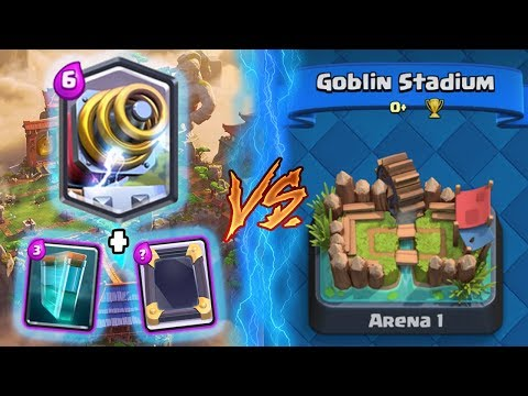 Thumbnail: Clash Royale | SPARKY + CLONE TROLLING ARENA 1! | *FUNNY MOMENTS* (Drop Trolling #67)