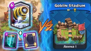 Clash Royale | SPARKY + CLONE TROLLING ARENA 1! | *FUNNY MOMENTS* (Drop Trolling #67)