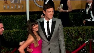 lea michele admits she lost two people when cory monteith died splash news splash news tv
