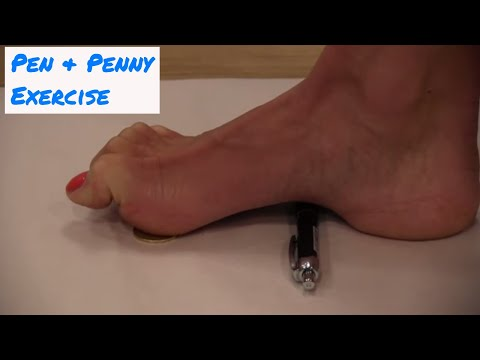 Pen and Penny (Loonie) Exercise - Kinetic Health