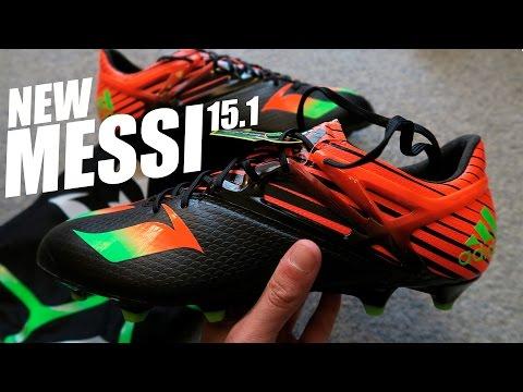 Nuevas Botas de Leo Messi: adidas Messi 15.1 - Unboxing