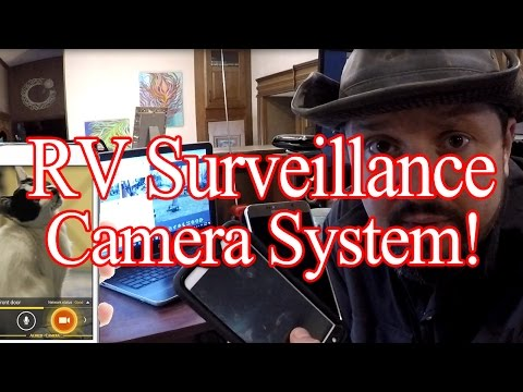 Free - RV Surveillance Camera System!