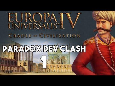 EU4 - Paradox Dev Clash - Episode 1 - Happy Three Friends