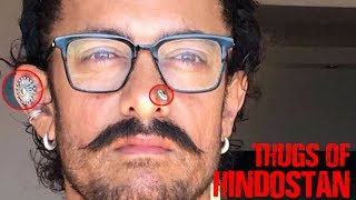 Aamir 's weird get up for Thugs of Hindostan| आमिर का अजीब रूप !