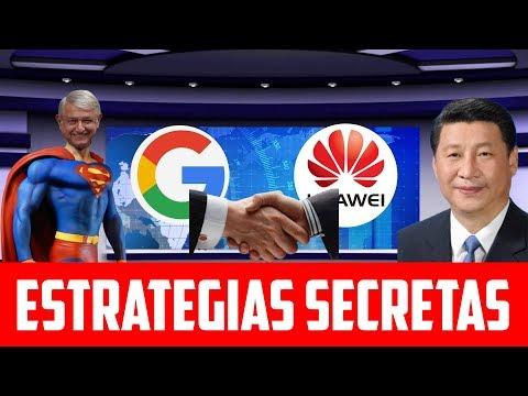 Atención: Por México Google Traicionaría a Trump Para Aliarse Con Huawei; Europa También Se Une
