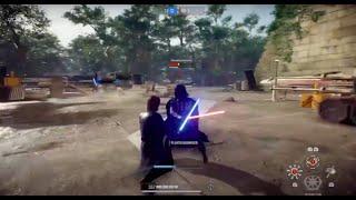 Star Wars Battlefront 2 - 1v1 duels against a good player