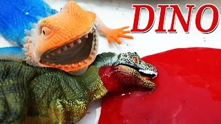 ДИНОЗАВРЫ мультфильм на русском Бешеная Ящерица с Лизуном напала на  Динозавров видео для детей
