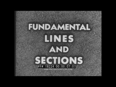 U.S. NAVY TRAINING FILM   SHIP HULL FUNDAMENTAL LINES & SECT