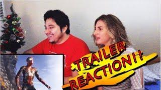 Avengers Infinity War Trailer Reaction (ENGLISH-ESPANOL)