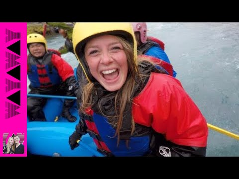 Iceland's Glacial River Rafting! 🙌🚣 - Extreme Grade 4 Rapids!
