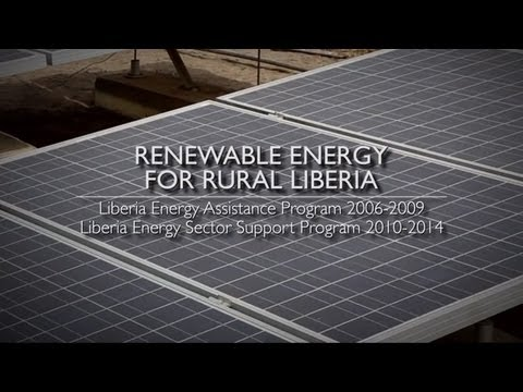 Part 4  Renewable Energy for Rural Liberia