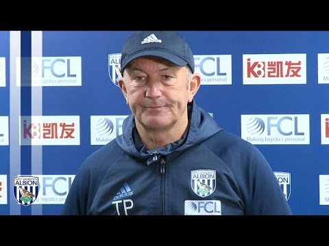 Tony Pulis previews the Baggies' clash with Liverpool in the Premier League