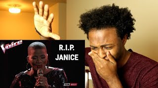 'THE VOICE' FAVORITE JANICE FREEMAN - THE STORY (TRIBUTE REACTION) REST IN PEACE