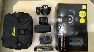 Unboxing NIKON D3500 with review    Best DSLR camera   